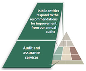 Audit and assurance services.