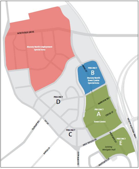 Figure 2 Massey North Concept Plan.