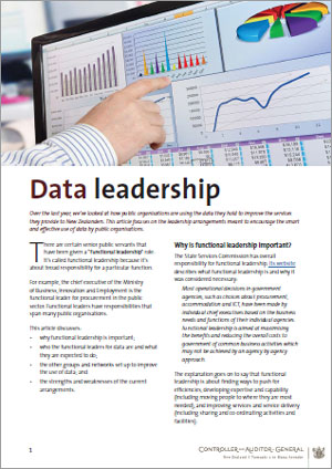 Data leadership