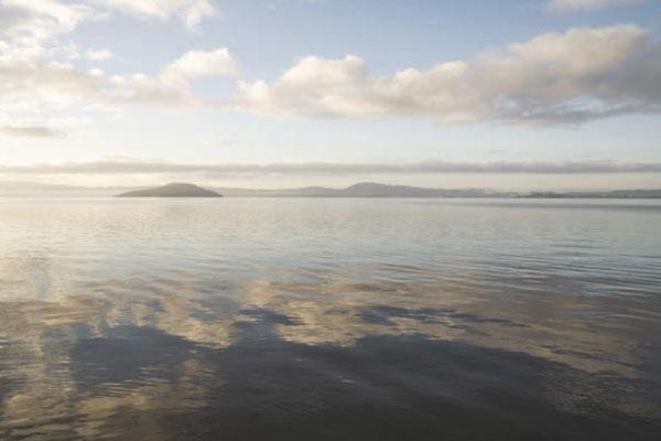 Photo of Lake Rotorua.