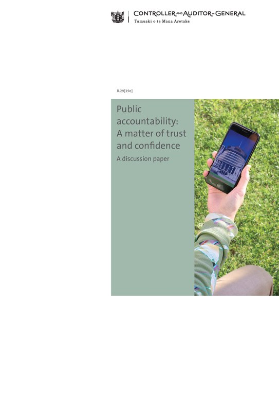 Public accountability cover