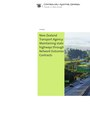 Cover of New Zealand Transport Agency: Maintaining state highways through Network Outcomes Contracts.