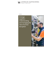 Strategic suppliers: Understanding and managing the risks of service disruption report cover