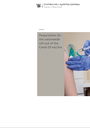 Preparations for the nationwide roll-out of the Covid-19 vaccine report cover