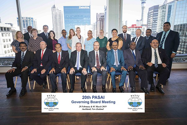 20th PASAI Governing Board Meeting, Auckland Feb 2019