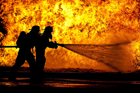 Firefighters. Image by skeeze from Pixabay.