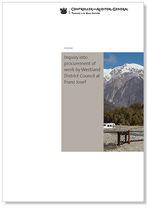 Westland inquiry report cover
