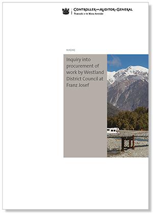 Westland inquiry report cover