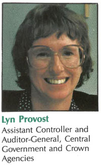 Lyn Provost, back in the day