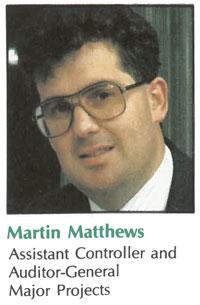 Martin Matthews, back in the day