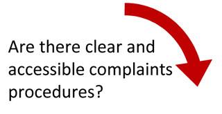 Clear procedures?