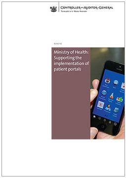 Patient portals report cover