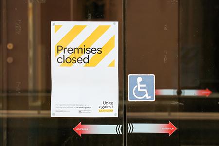 Premises closed
