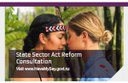 Proposed reform of the State Sector Act 1988