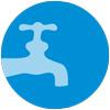 Circle water distribution
