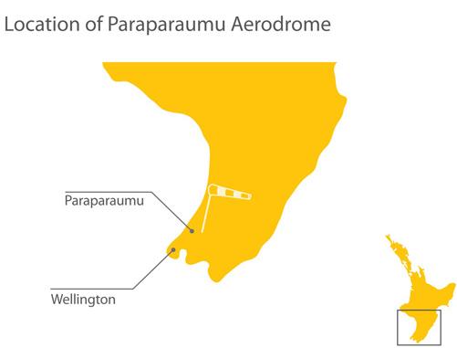 Location of the aerodrome